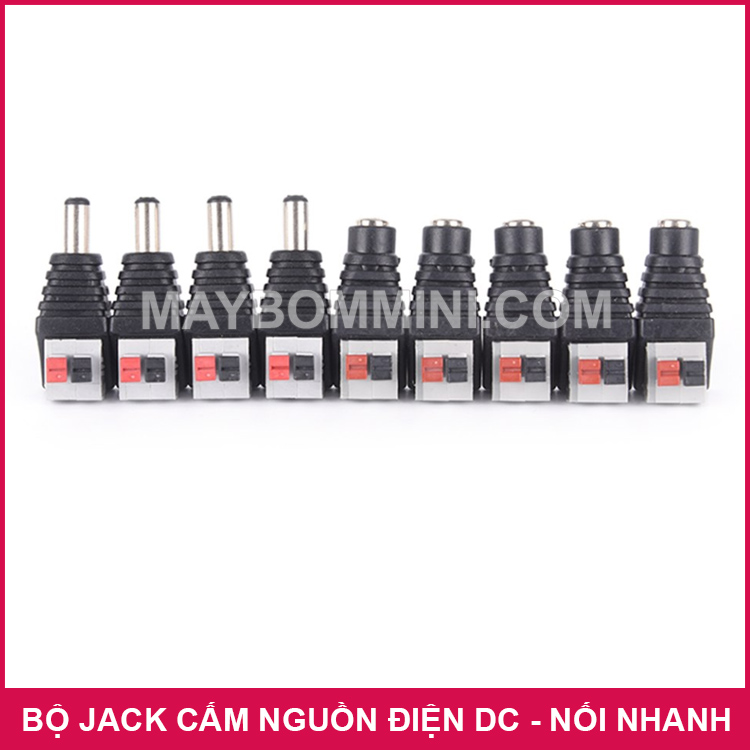 DC Power Female Plug Jack Adapter Connector