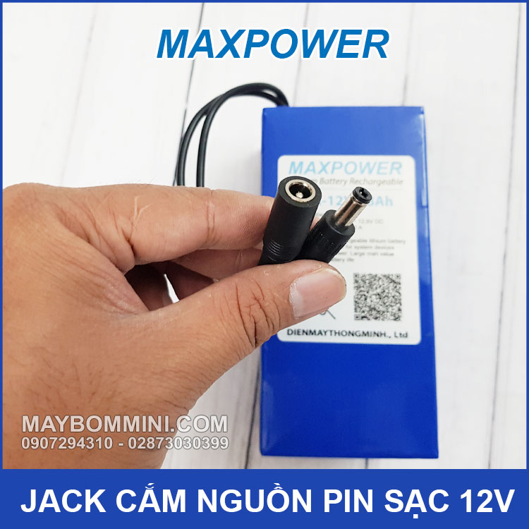 Jack Cam Nguon DC Pin 12v
