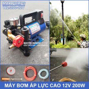 May Bom Ap Luc Cao 12V WZ 200