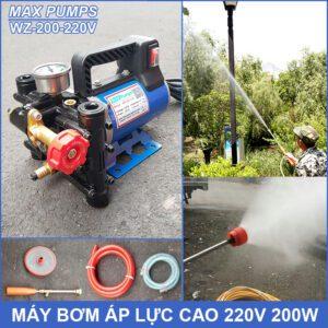 May Bom Ap Luc Cao 220V WZ 200 Maxpumps Lazada