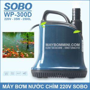 May Bom Nuoc Chim SOBO 220V WP 300D 2019