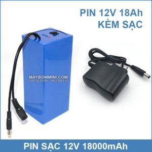 Pin Sac 12v 18ah Kem Sac Pin