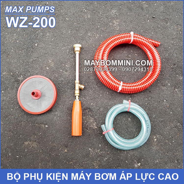 Bo Phu Kien May Bom Ap Luc Cao WZ 200 MAXPUMPS