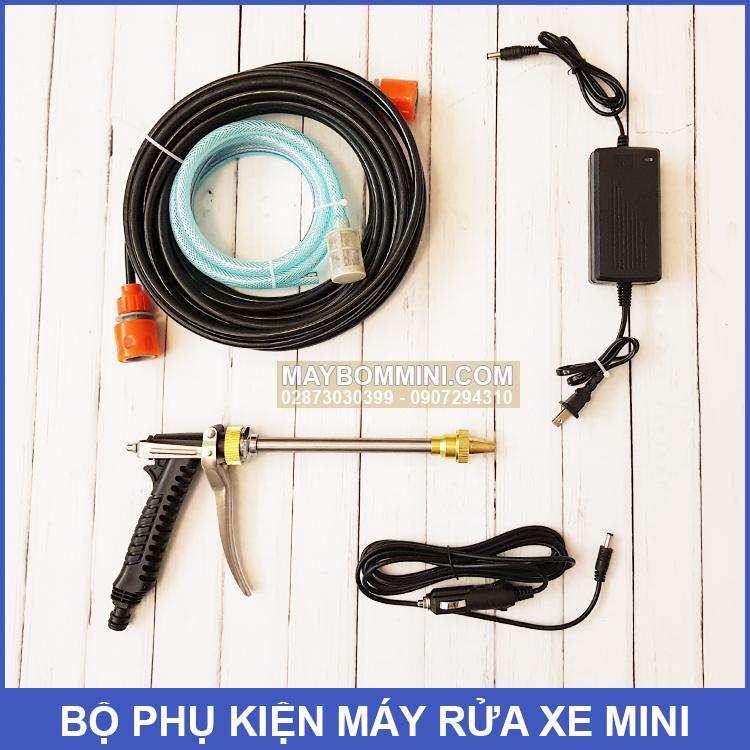 Bo Phu Kien May Rua Xe Mini Maxpumps 12V 80W