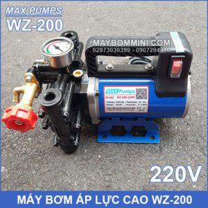 Bom Ap Luc Cao Mini 220V