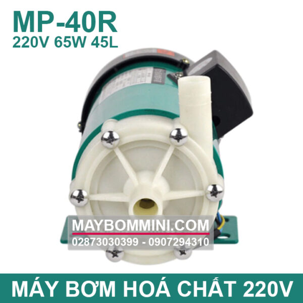 Dau May Bom Hoa Chat 40R 220V