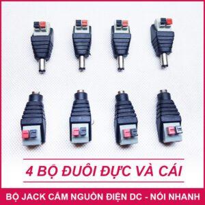 Jack Cam Nguon Dien Dc 4 Bo Duc Cai Noi Nhanh LAZADA