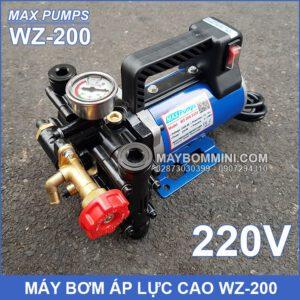 May Bom Ap Luc 220v Maxpumps WZ 200