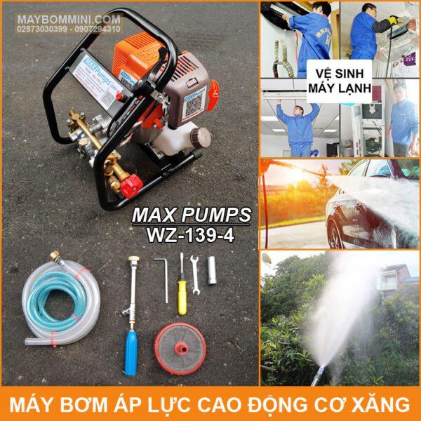 May Bom Ap Luc Cao Dong Co Xang