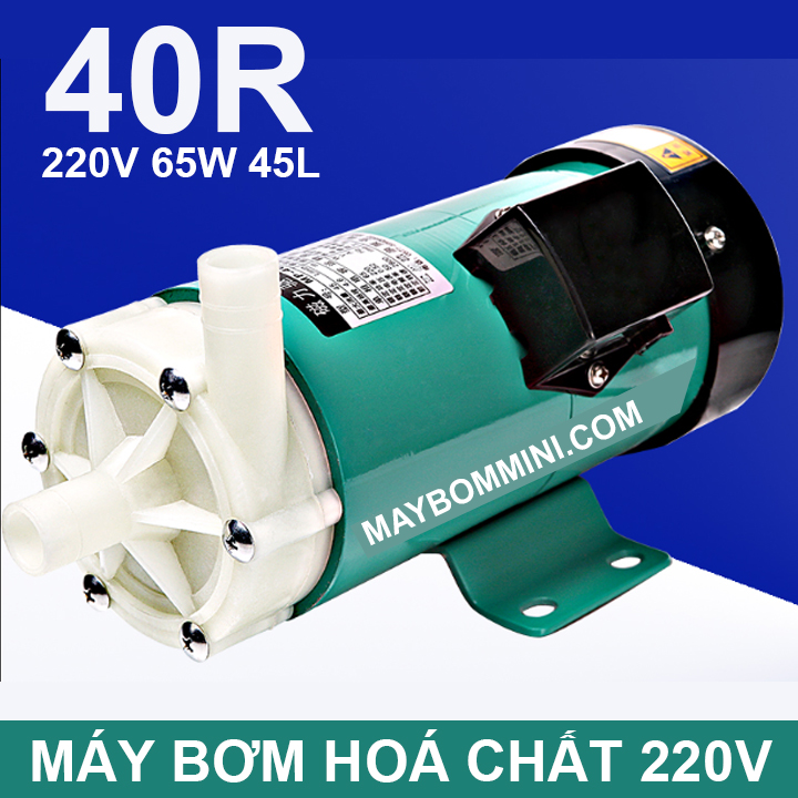 May Bom Hoa Chat 220v 40R