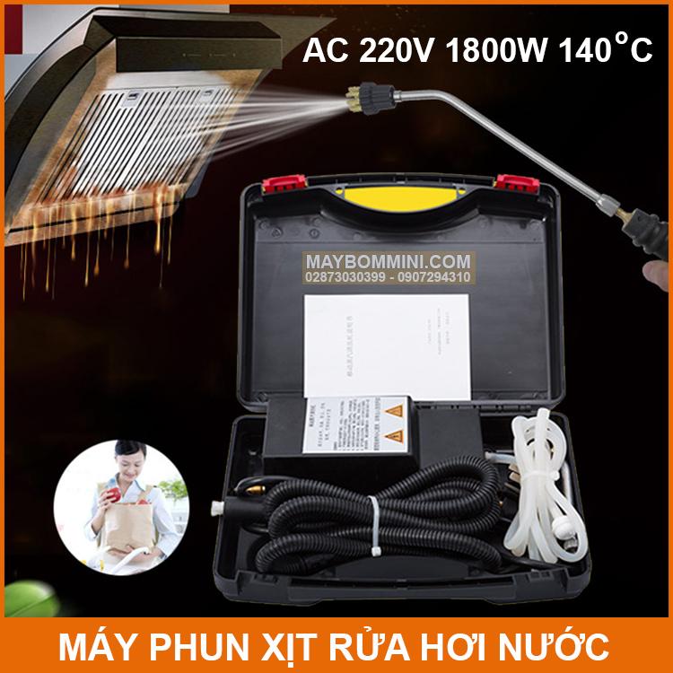 May Phun Xit Rua Hoi Nuoc 1800W 220V