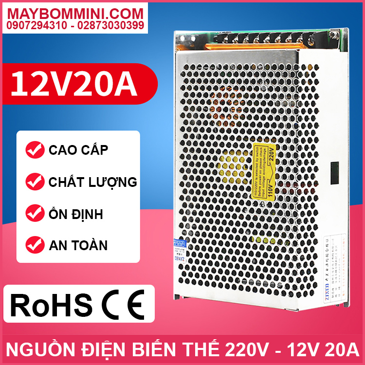Nguon To Ong 12v 20a