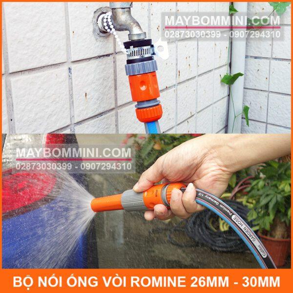 Su Dung Bo Noi Day Vao Voi Romine