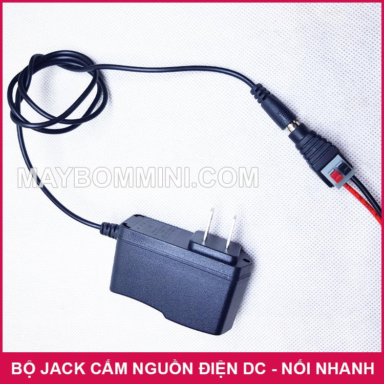 Su Dung Jack DC Noi Nhanh