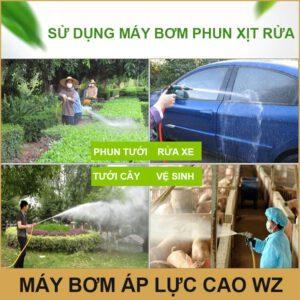 Su Dung May Bom Ap Luc Cao