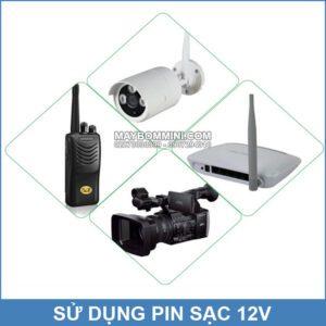 Su Dung Pin Sac 12v Dung Luong Lon