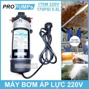 May Bom Ap Luc Propumps 170M 220V 136W
