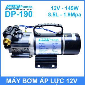 May Bom Ap Luc Mini 12V 145W Smartpumpp DP 190