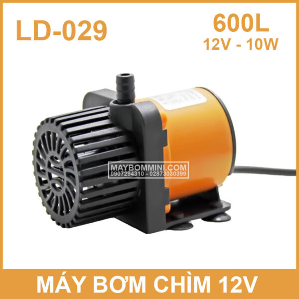 May Bom Chim Mini 12V LD 029