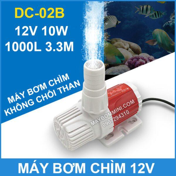 Bom Chim Khong Choi Than 12v 1000l