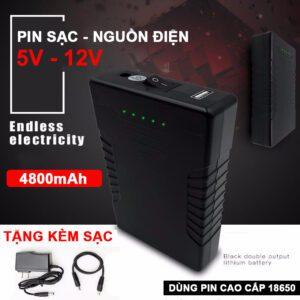 Box Pin Sac Du Phong USB 5V 12V 4800mah Lazada