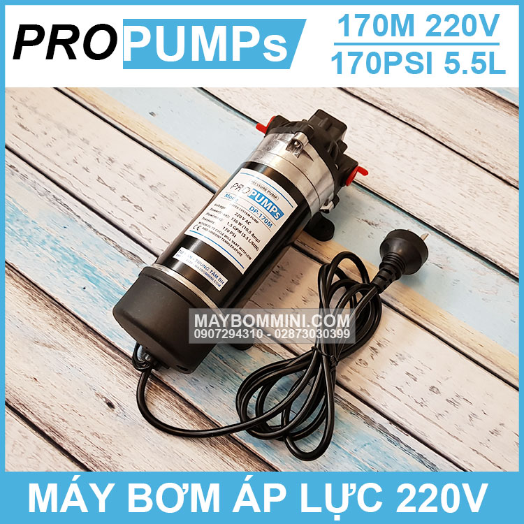 May Bom Ap Luc Mini Propumps 220v 170M