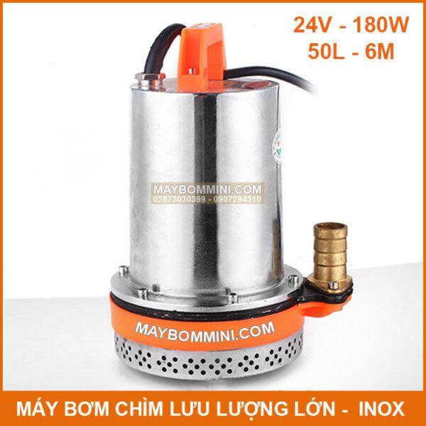 May Bom Chim 24v 180w 50l
