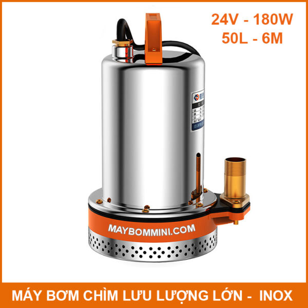 May Boom Chim Nuoc Thai Nuoc Ngap 24v