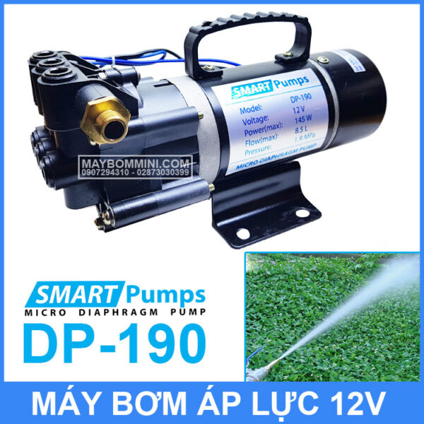 May Xit Rua Ap Luc Mini 12v 145w Smartpumps