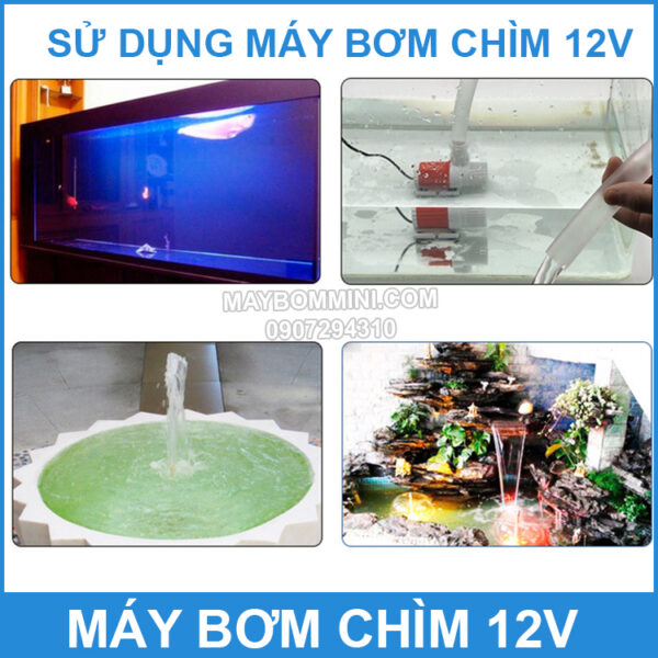Su Dung Bom Chim 12v
