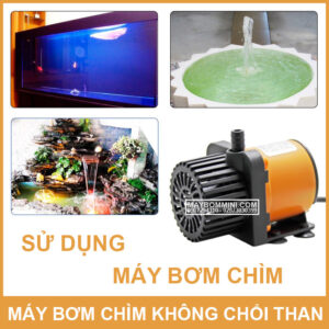 Su Dung May Bom Chim 12v Khong Choi Than