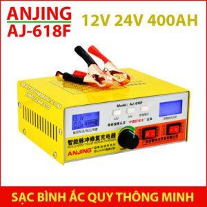 Bo Sac Ac Quy 12v 24v 400ah AJ 618F ANJING