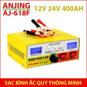 Bo Sac Ac Quy 12v 24v 400ah AJ 618F ANJING Lazada