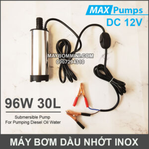 May Bom Dau Nhot 12V 30L DO Inox