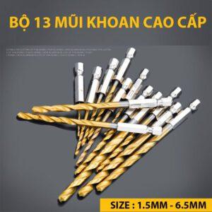 Bo 13 Mui Khoan Cao Cap Gold