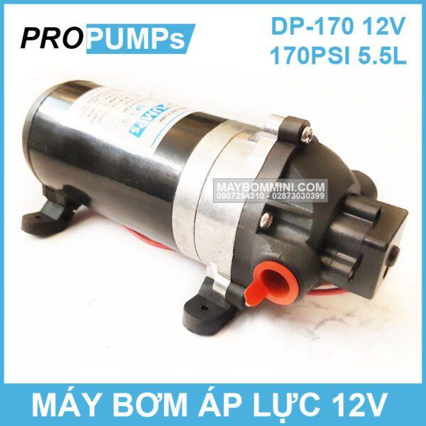 Bom Nuoc Mini Ap Luc DP 170 12v