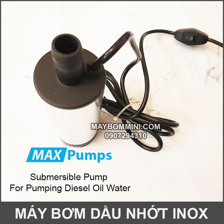 Bom Nuoc Mini Chim DO Inox