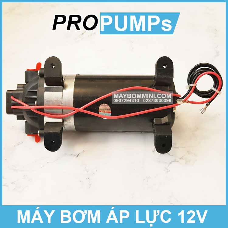 Cau Tao May Bom Ap Luc Mini 12v
