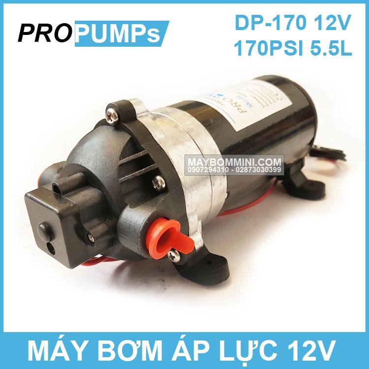 May Bom Ap Luc 12v Dp 170