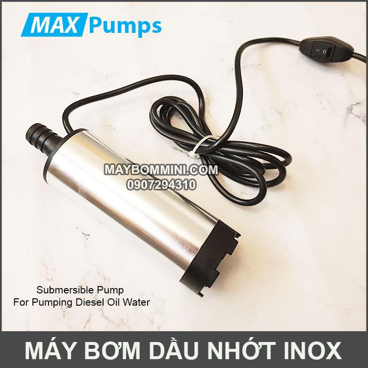May Bom Chim Nuoc Dau Nhot Inox