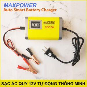 Sac Binh Ac Quy 12v Tu Dong Thong Minh 2A Lazada
