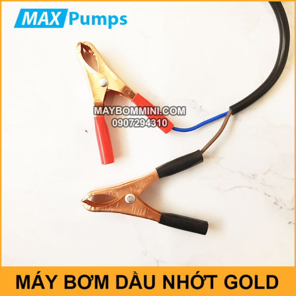 Kep Binh May Bom DO 12V 24V Gold