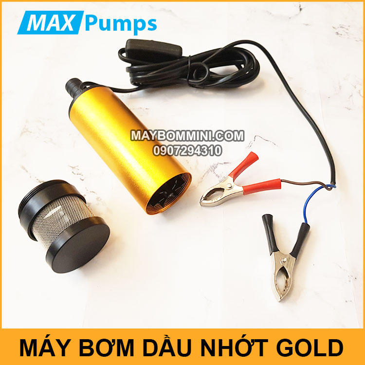 May Bom Dau Nhot Chim Gold Chinh Hang