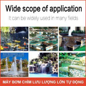 Su Dung May Bom Chim Luu Luong Lon
