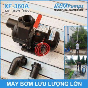 May Bom Luu Luong Lon 12V 150L 360A MAXPUMS Lazada