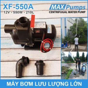 May Bom Luu Luong Lon 12V 220L 550A MAXPUMS Chinh Hang Lazada