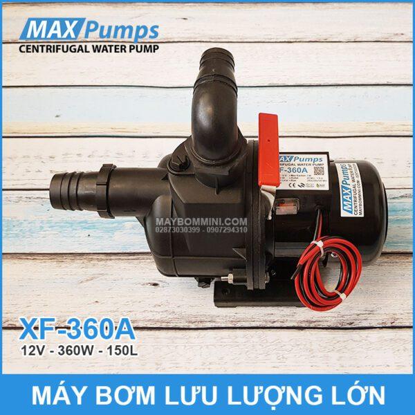 May Bom Nuoc 12V XF 360A Luu Luong Lon Chinh Hang