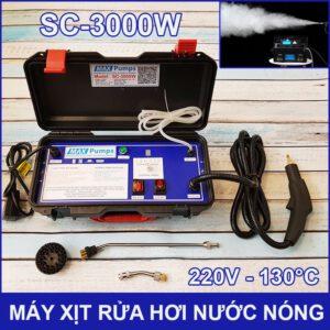 May Phun Xit Rua Hoi Nuoc Nong 220V 3000W SC 3000W Maxpumps LAZADA