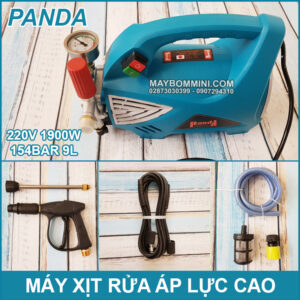 May Xit Rua Xe Ap Luc Cao 220V 1900W 154Bar 9L Panda