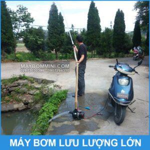 Su Dung May Bom Nuoc Luu Luong Lon 12V 550A